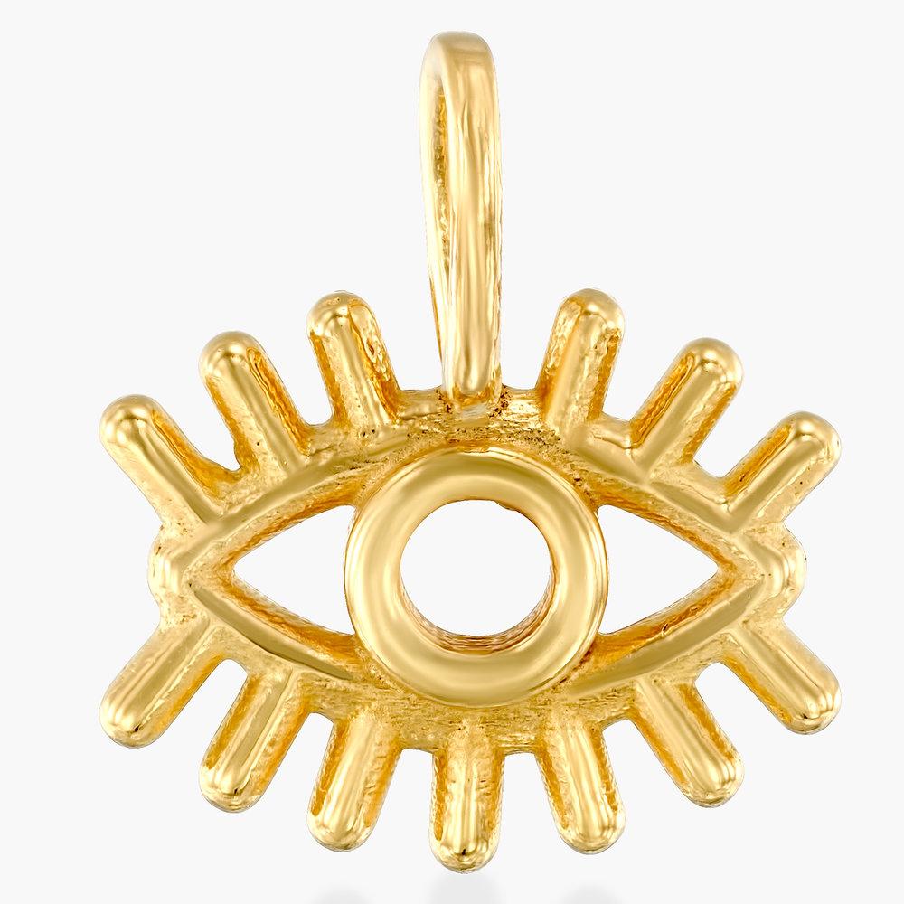 Eye Charm - Gold Vermeil
