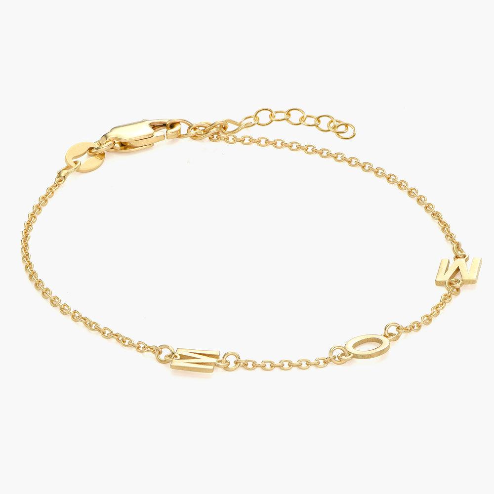 Inez Initial Bracelet - Gold Vermeil - 1