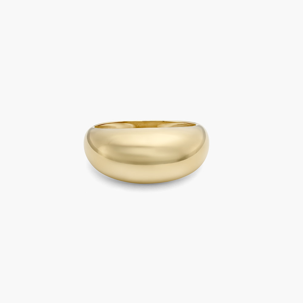 Dome Ring - 10K Gold