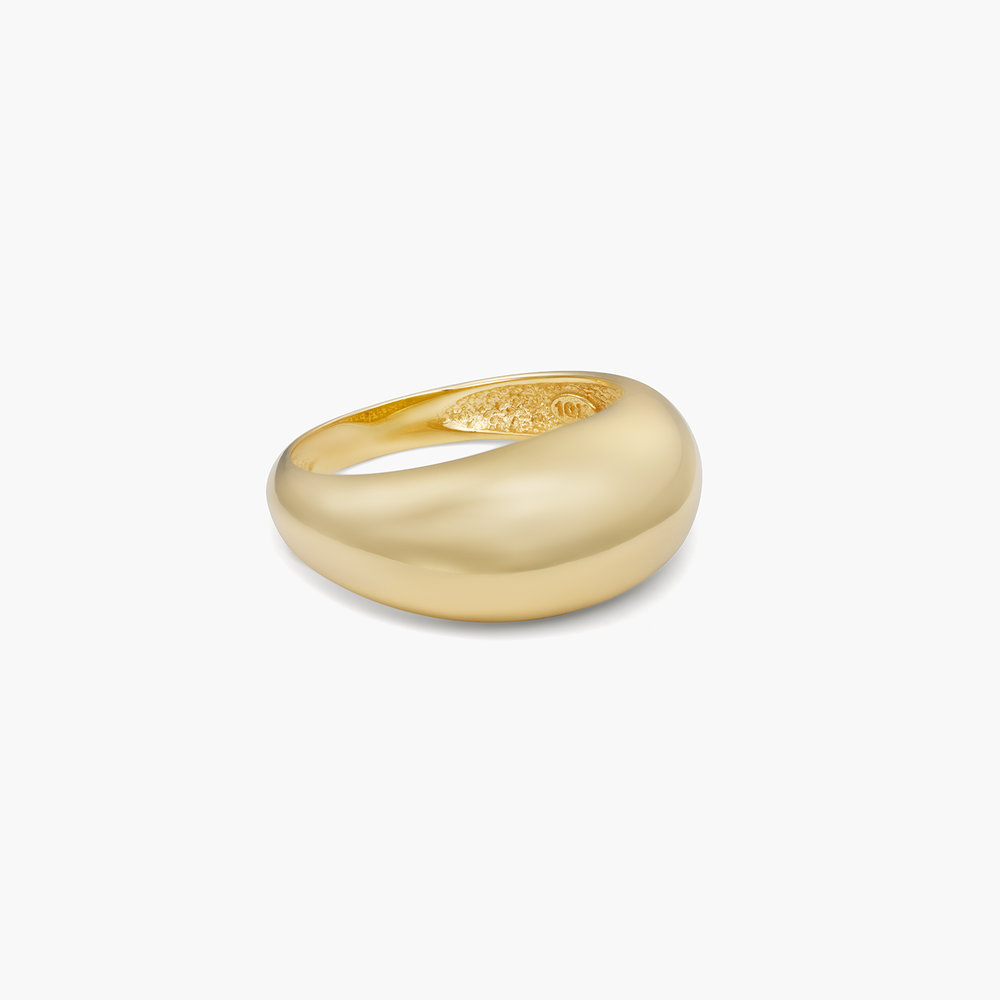 Dome Ring - 10K Gold - 1
