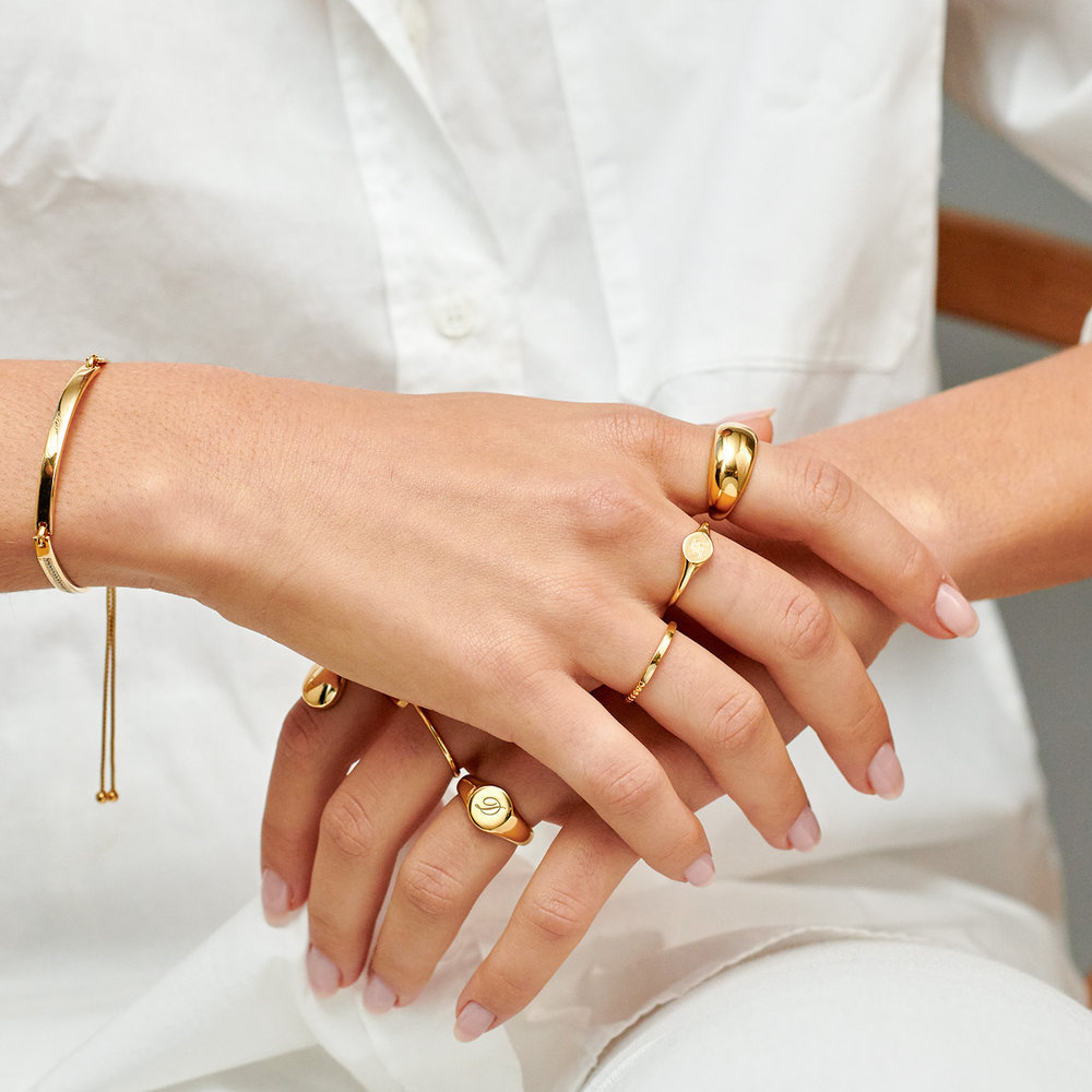 Dome Ring - 10K Gold - 3