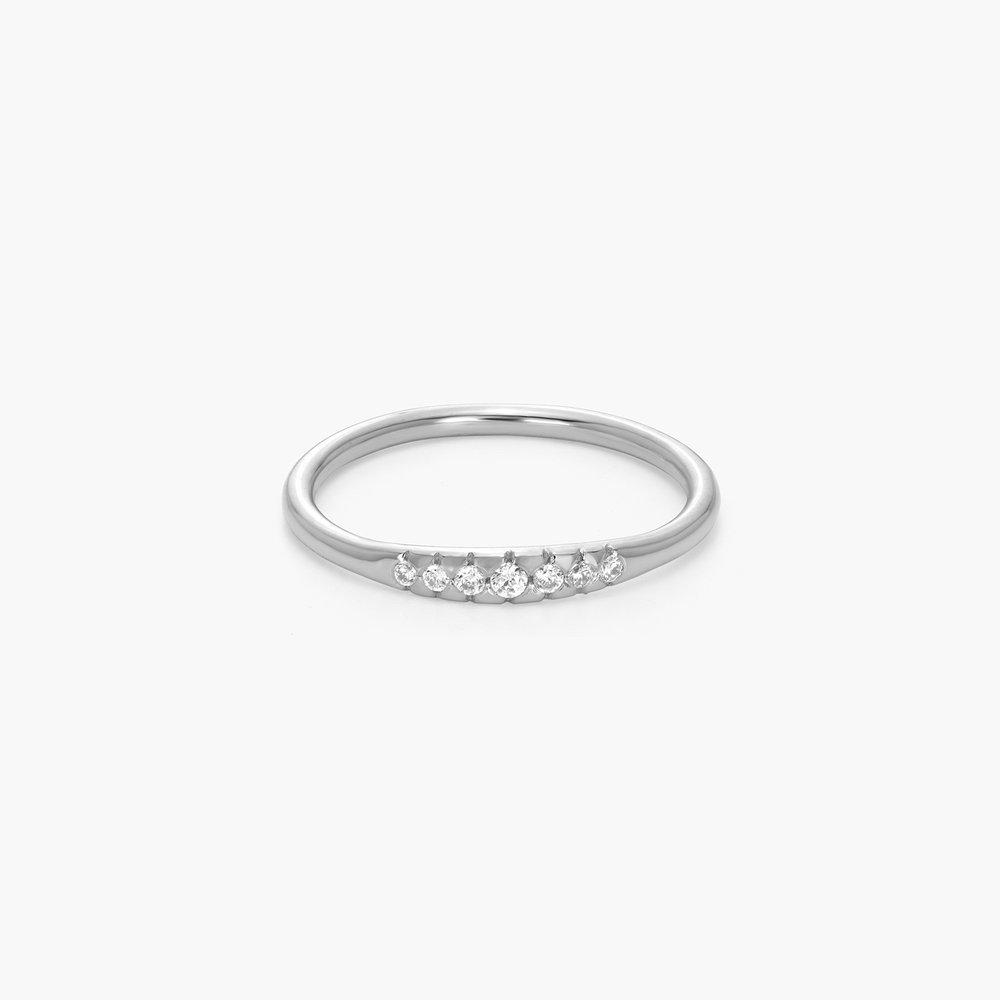 Darleen Diamond Ring - Silver