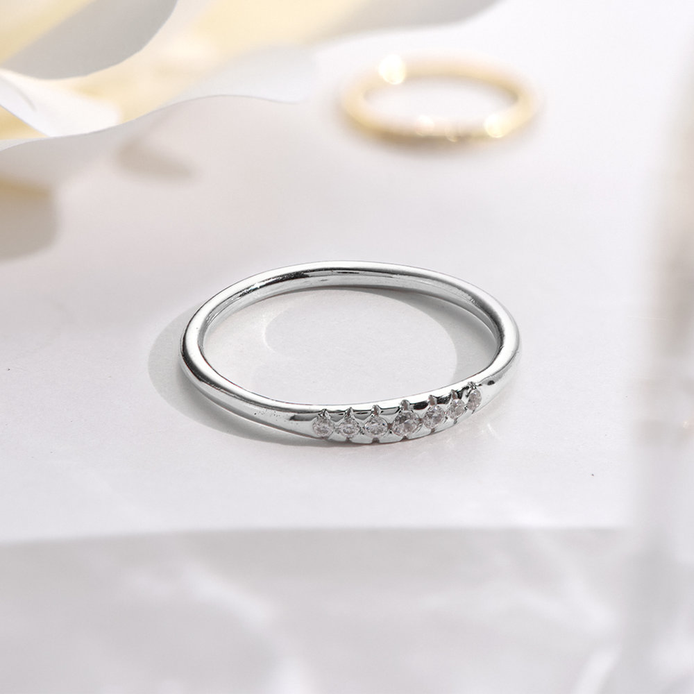Darleen Diamond Ring - Silver - 2
