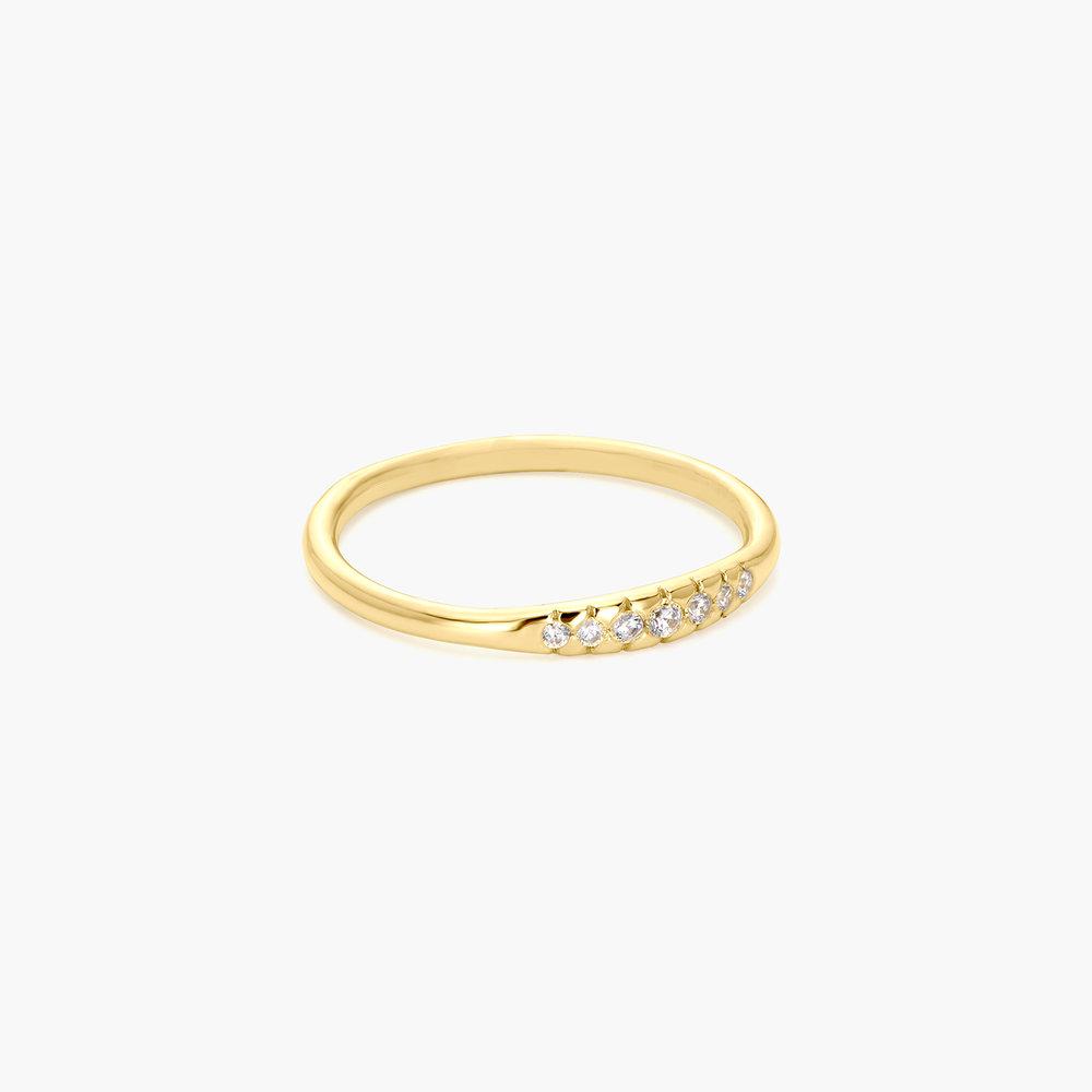 Darleen Diamond Ring - Gold Plated - 1