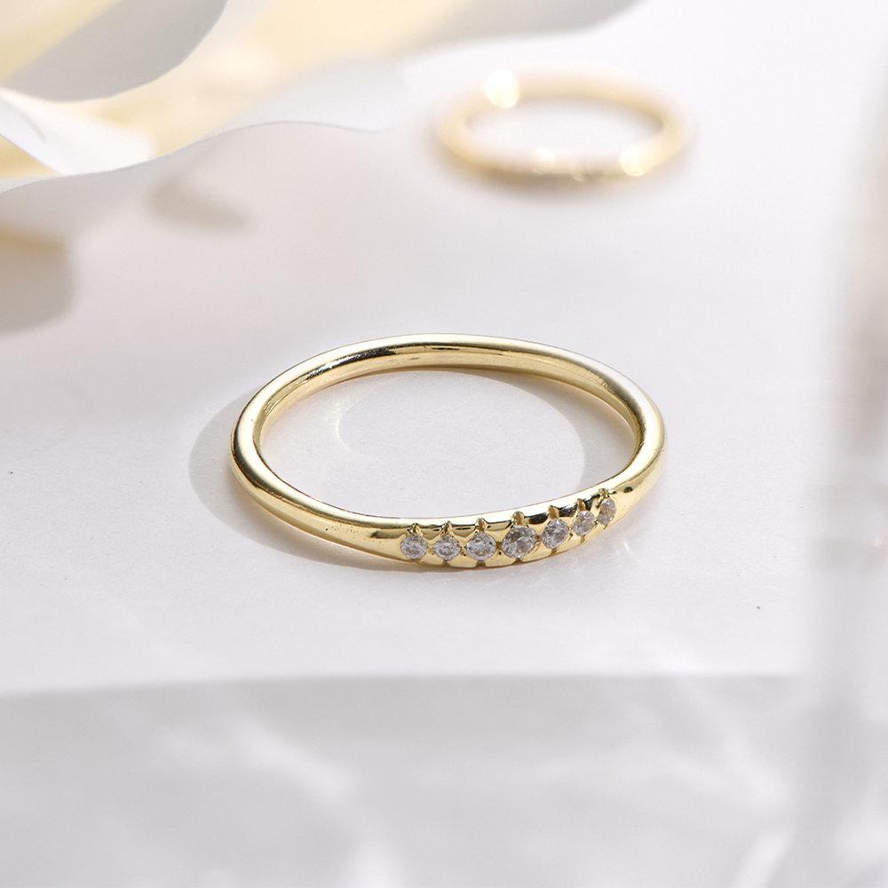 Darleen Diamond Ring - 14K Gold - 2