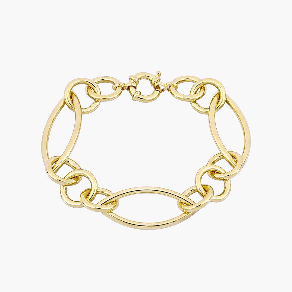 Reyna Link Bracelet - Gold Plating