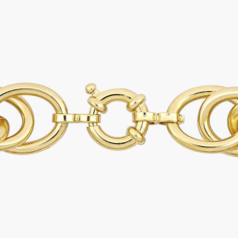 Haisley Link Bracelet - Gold Plating - 1