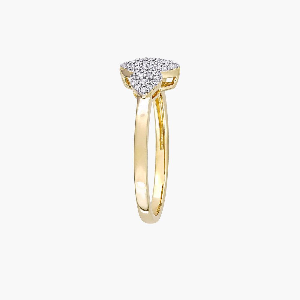 Charlotte Diamond Marquise Ring - Gold Plating - 1
