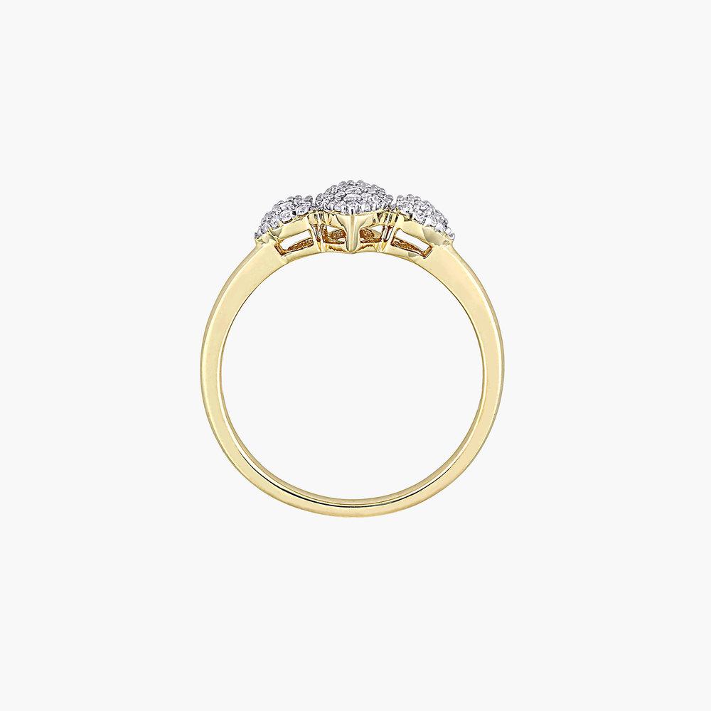 Charlotte Diamond Marquise Ring - Gold Plating - 2