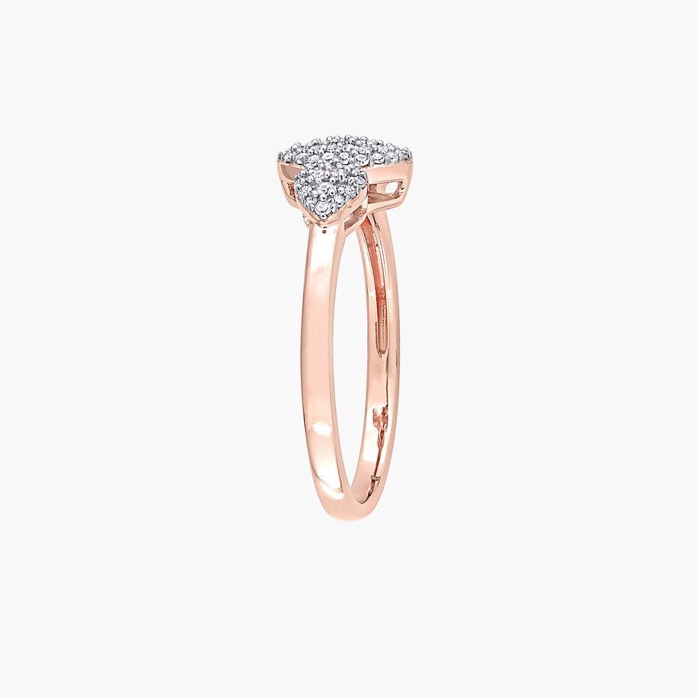 Charlotte Diamond Marquise Ring - Rose Gold Plating - 1