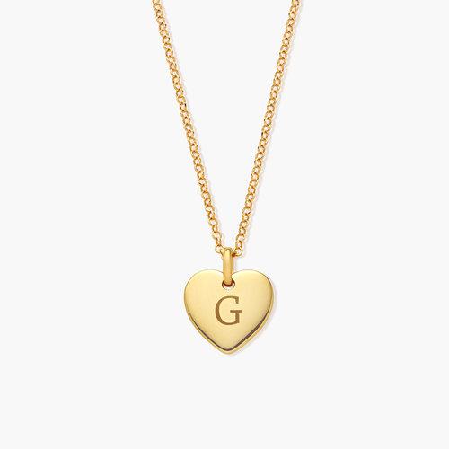 Luna Heart Necklace - Gold Vermeil product photo