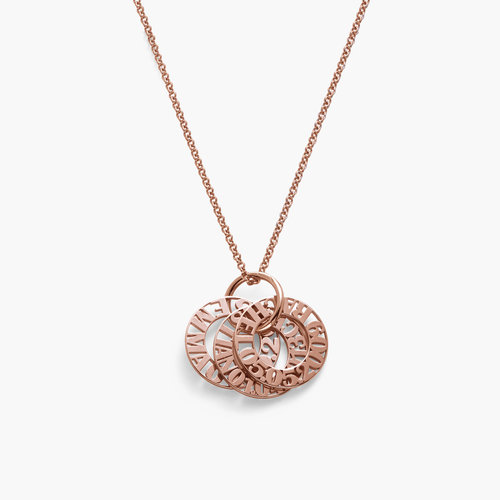 Tokens of Love Necklace - Rose Gold Plated product photo