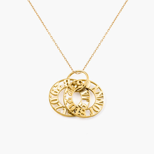 Tokens of Love Necklace - 10k Gold product photo