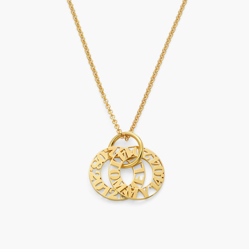 Tokens of Love Necklace - 18k Vermeil Gold Plated product photo