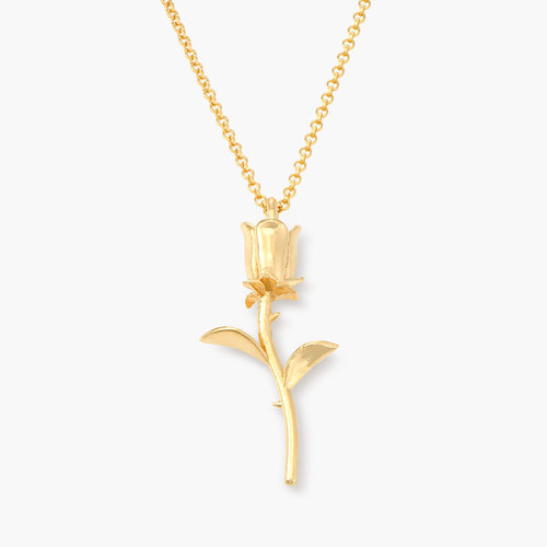 Forever Rose Necklace - Gold Plated product photo