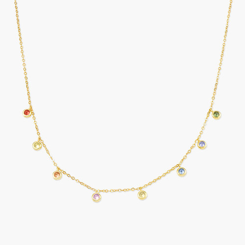Rainbow Necklace - Gold Plated product photo