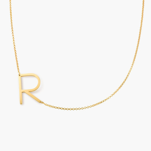 Initial Necklace - Gold Plated product photo
