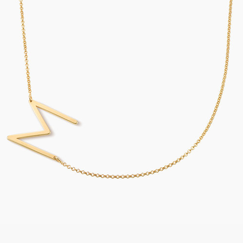 Initial Necklace - Gold Vermeil product photo