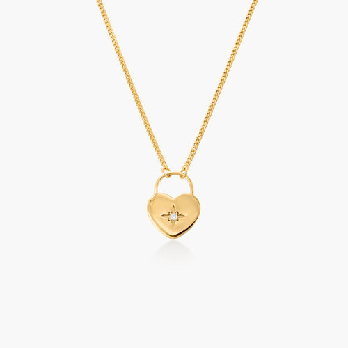 One Love Lock Chain - Gold Plated product photo
