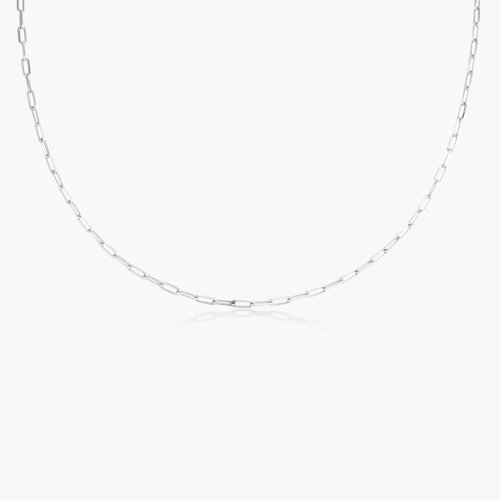 Rainey Chain Link Necklace - Sterling Silver product photo