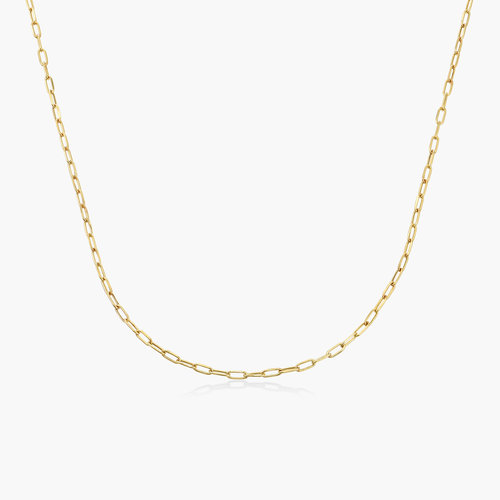 Rainey Chain Link Necklace - 10k Gold product photo