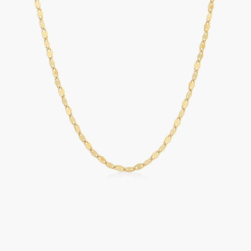 Aria Mirror Chain Necklace - Gold Plating product photo