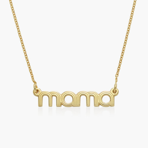Bonnie Name Necklace - Gold Plated product photo