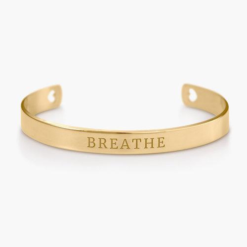 My Heart Bangle Bracelet - Gold Plated product photo