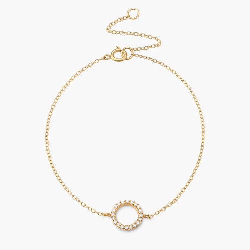 Eternity Bracelet - Gold Plated product photo