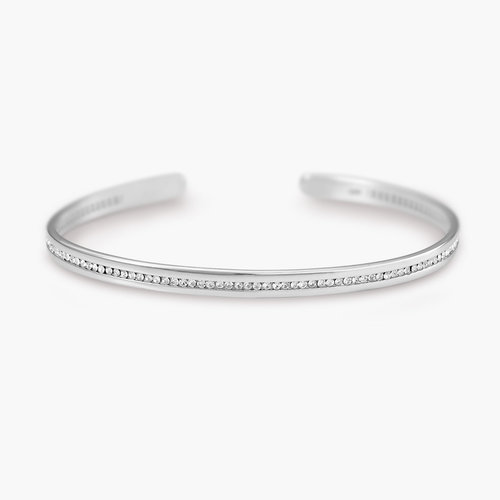 Siren Bangle Bracelet - Silver product photo