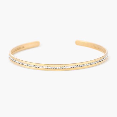Siren Bangle Bracelet - Gold Plated product photo