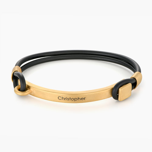 Porter Engraved Bracelet - Gold Plating product photo