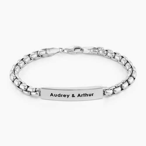 Arctic Ice Bracelet - Sterling Silver product photo