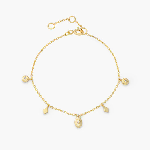 Ethereal Drops Bracelet - Gold Plated product photo