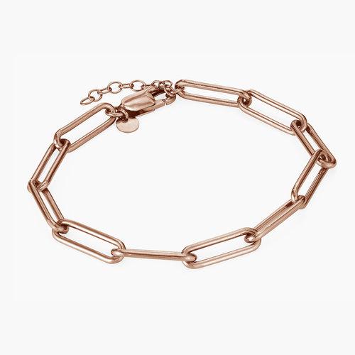 Big Link Bracelet - Rose Gold Plated product photo