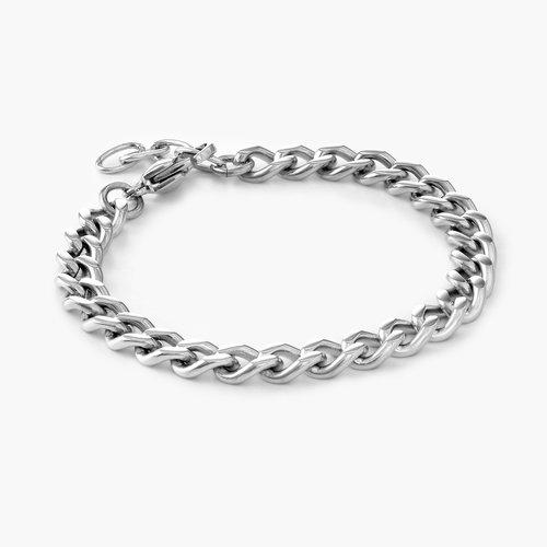 Tallulah Gourmette Bracelet - Stainless Steel product photo