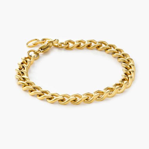 Tallulah Gourmette Bracelet - Gold Plating product photo