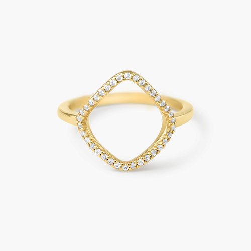 Siren Ring - Gold Plated product photo