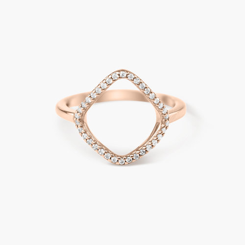 Siren Ring - Rose Gold Plated product photo
