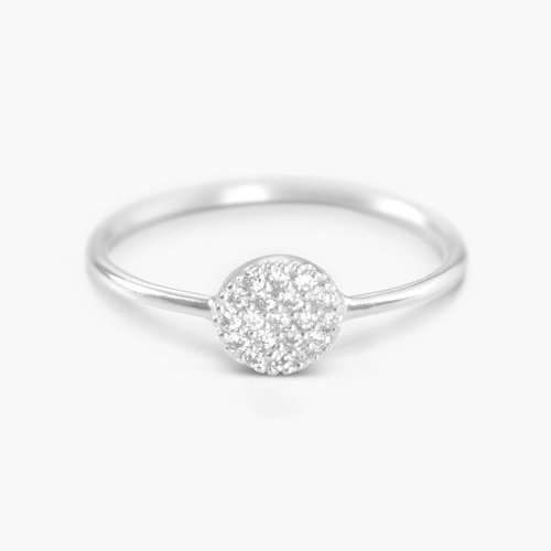 Mini Stardust Ring - Silver product photo