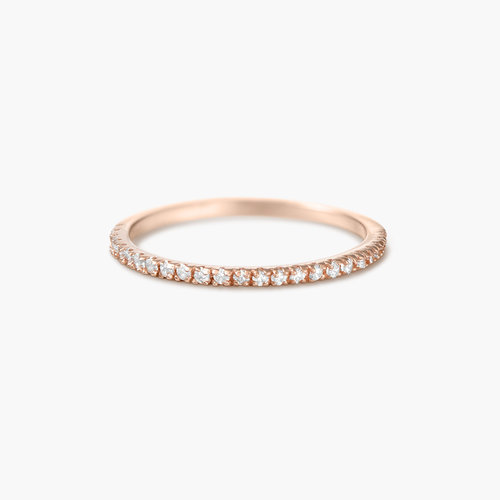 Serenity Ring - Rose Gold Plated product photo