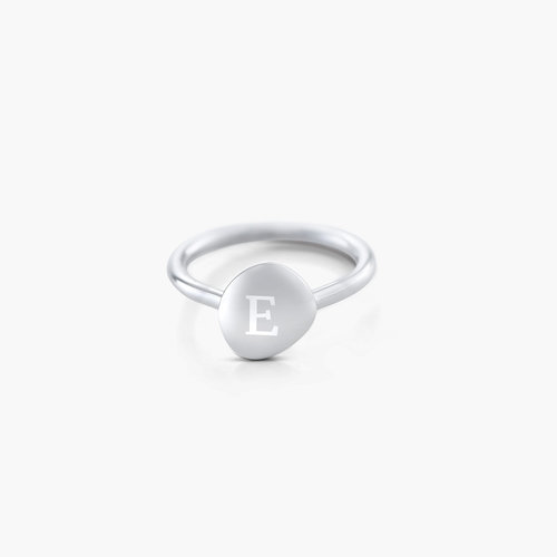 Luna La Brea Ring - Silver product photo