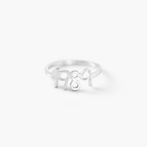 Pixie Name Ring - Silver product photo
