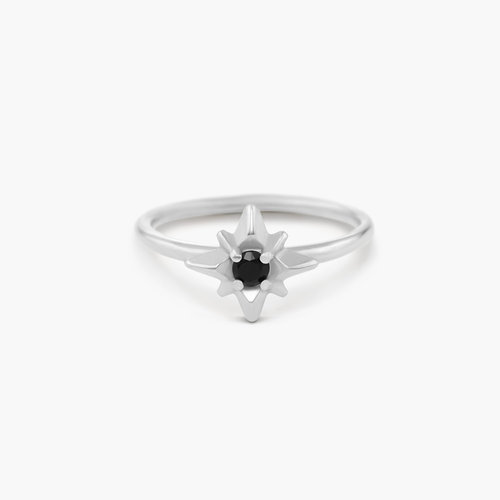 Starburst Ring - Sterling Silver product photo