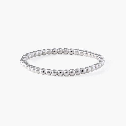 Glisten Dot Ring - Silver product photo