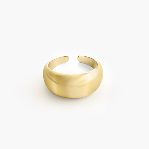 Dome Open Ring - Gold Plating product photo