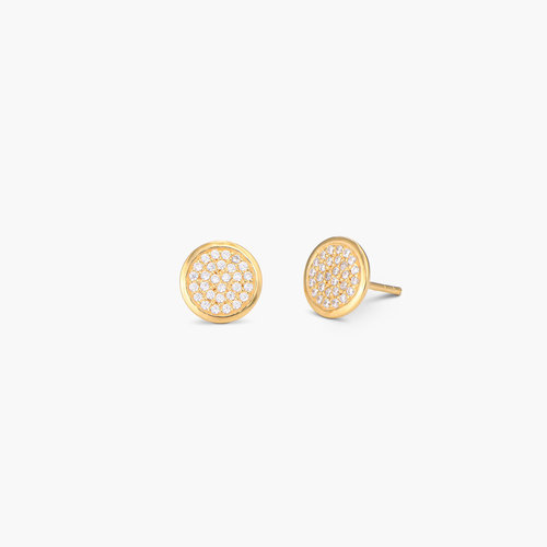 Stardust Earrings - Gold plated product photo