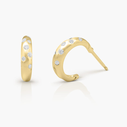 Whisper Hoop Earrings - Gold Plated product photo