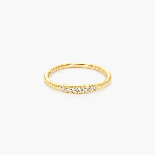 Darleen Diamond Ring - 14K Gold product photo