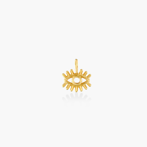 Eye Charm -14K Yellow Gold product photo